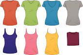 Women's Tees and Tanks in Any Color