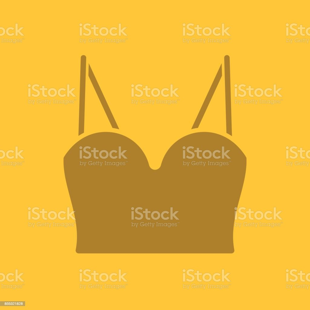 Damen Top-Symbol – Vektorgrafik