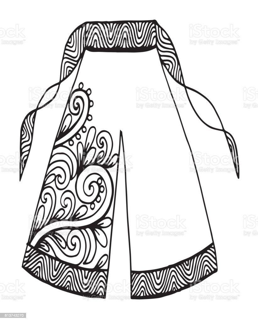 Ilustración de Pantalones Ropa Dibujo De La Mujer ...