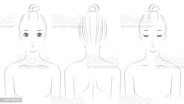 Womens Upper Body - Arte vetorial de stock e mais imagens de 20-29 Anos