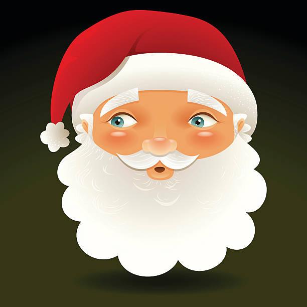 Wondering santa - Very detailed vector art illustration