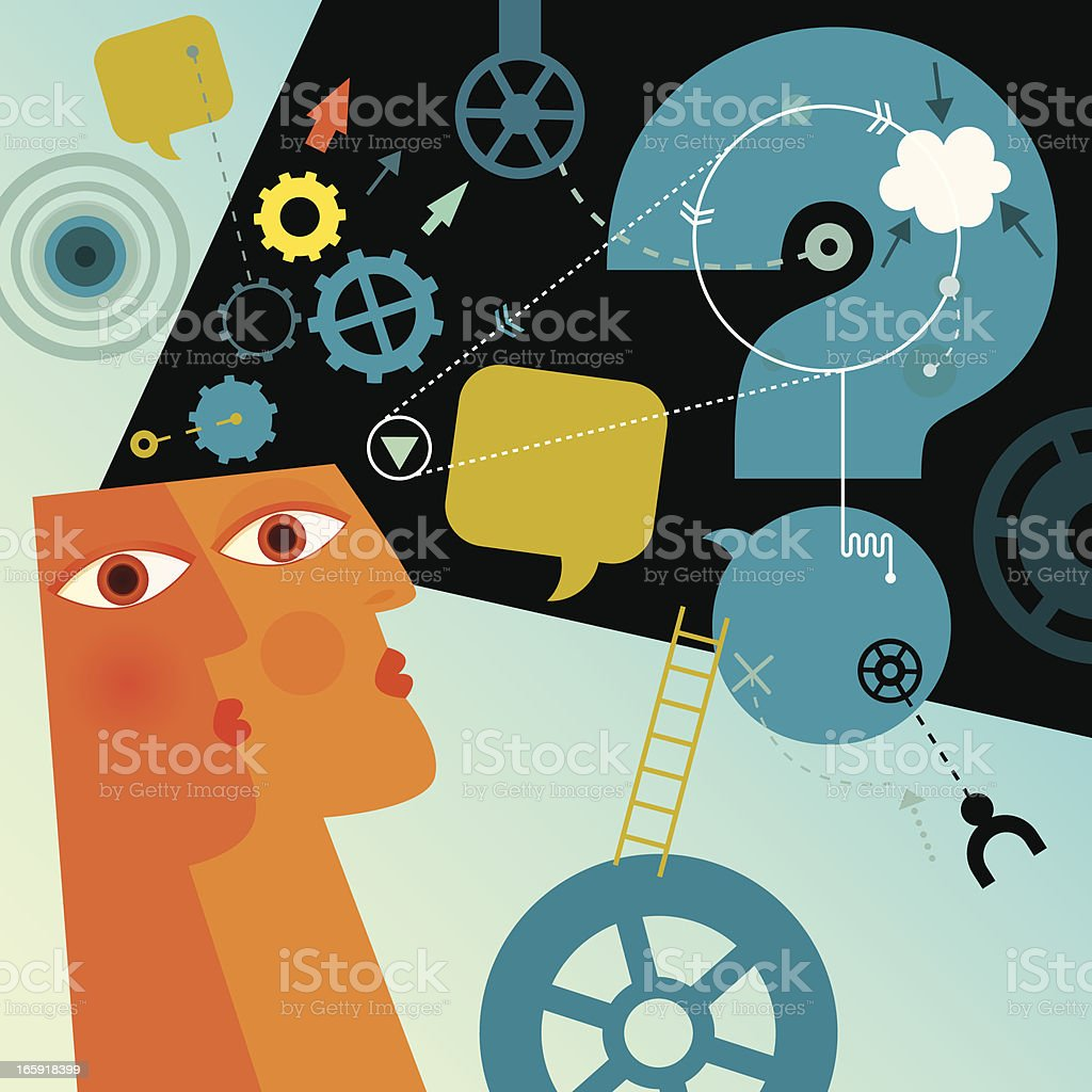 Wondering royalty-free wondering stock vector art & more images of activity