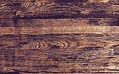 Vector wood background, dark wood texture