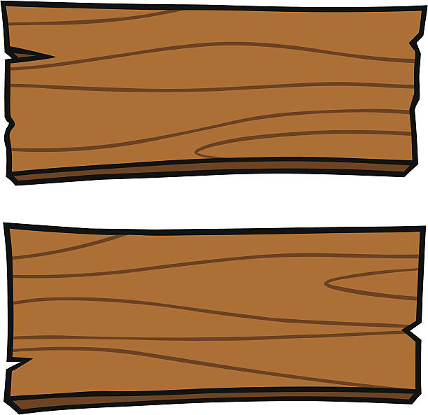 Royalty free wood plank clip art vector images