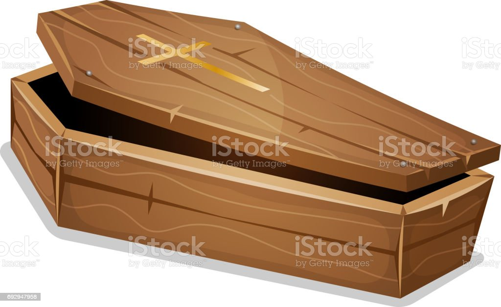 royalty free coffin clip art vector images illustrations istock rh istockphoto com 3d coffin clipart 3d coffin clipart