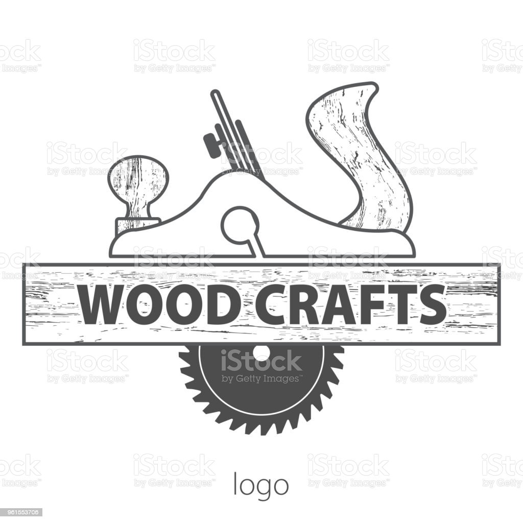 Wood Craft Logo Woodworks Professional Service Grange Print Stamp