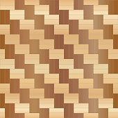 Wood floor parquet vector seamless pattern illustration