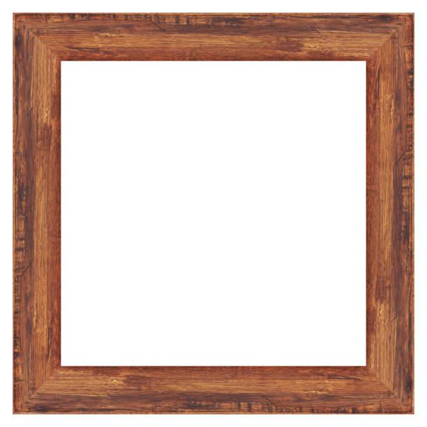 illustrazioni stock, clip art, cartoni animati e icone di tendenza di telaio in legno isolato su sfondo bianco - intelaiatura