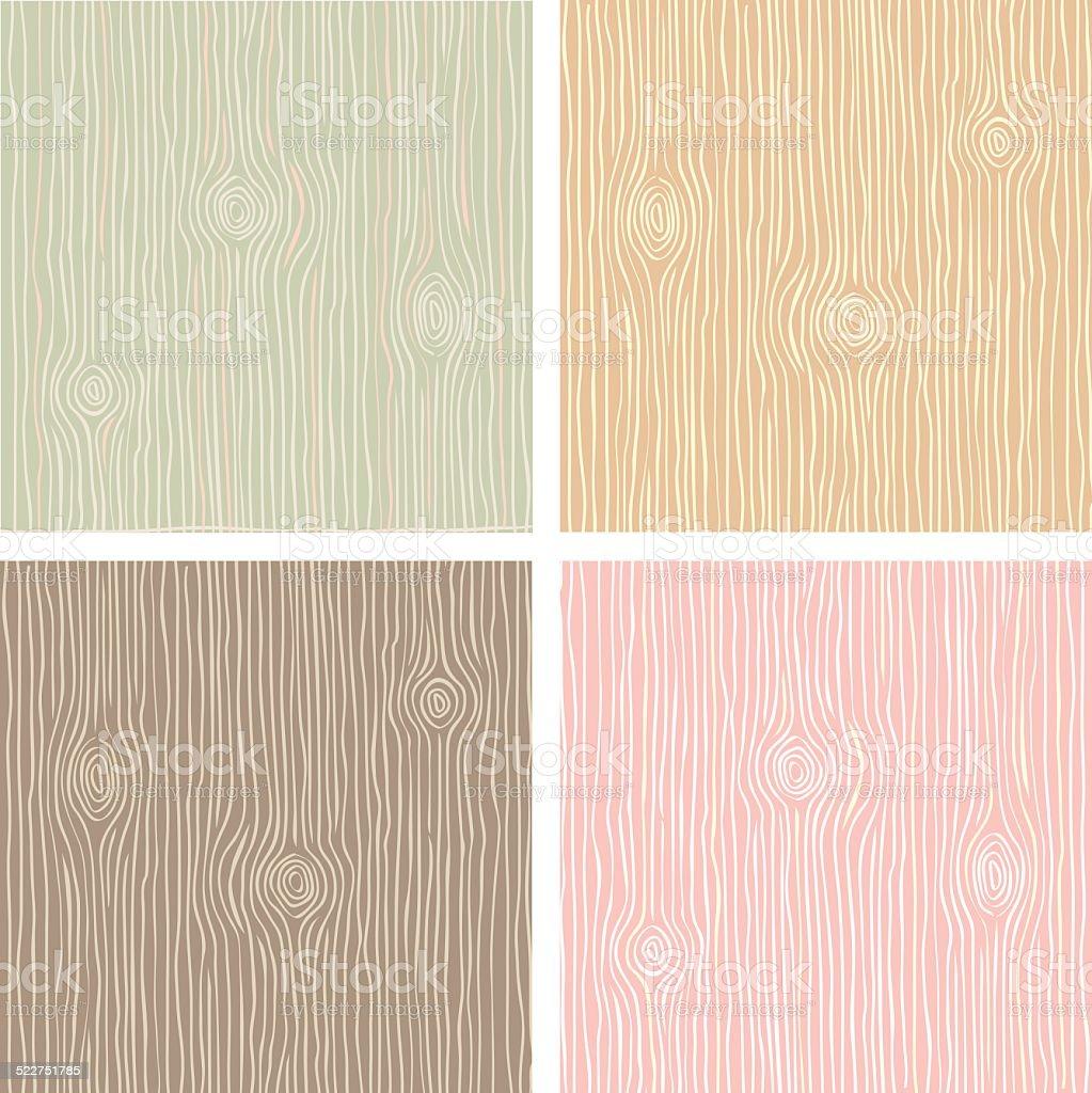 Grano textura de madera vintage color - ilustración de arte vectorial