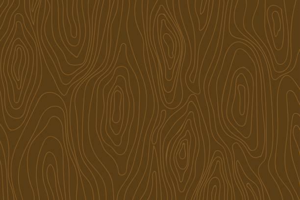 ilustrações, clipart, desenhos animados e ícones de textura de grãos de madeira - textura de madeira