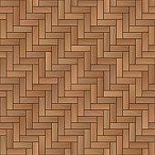 Wood parquet background, seamless pattern.