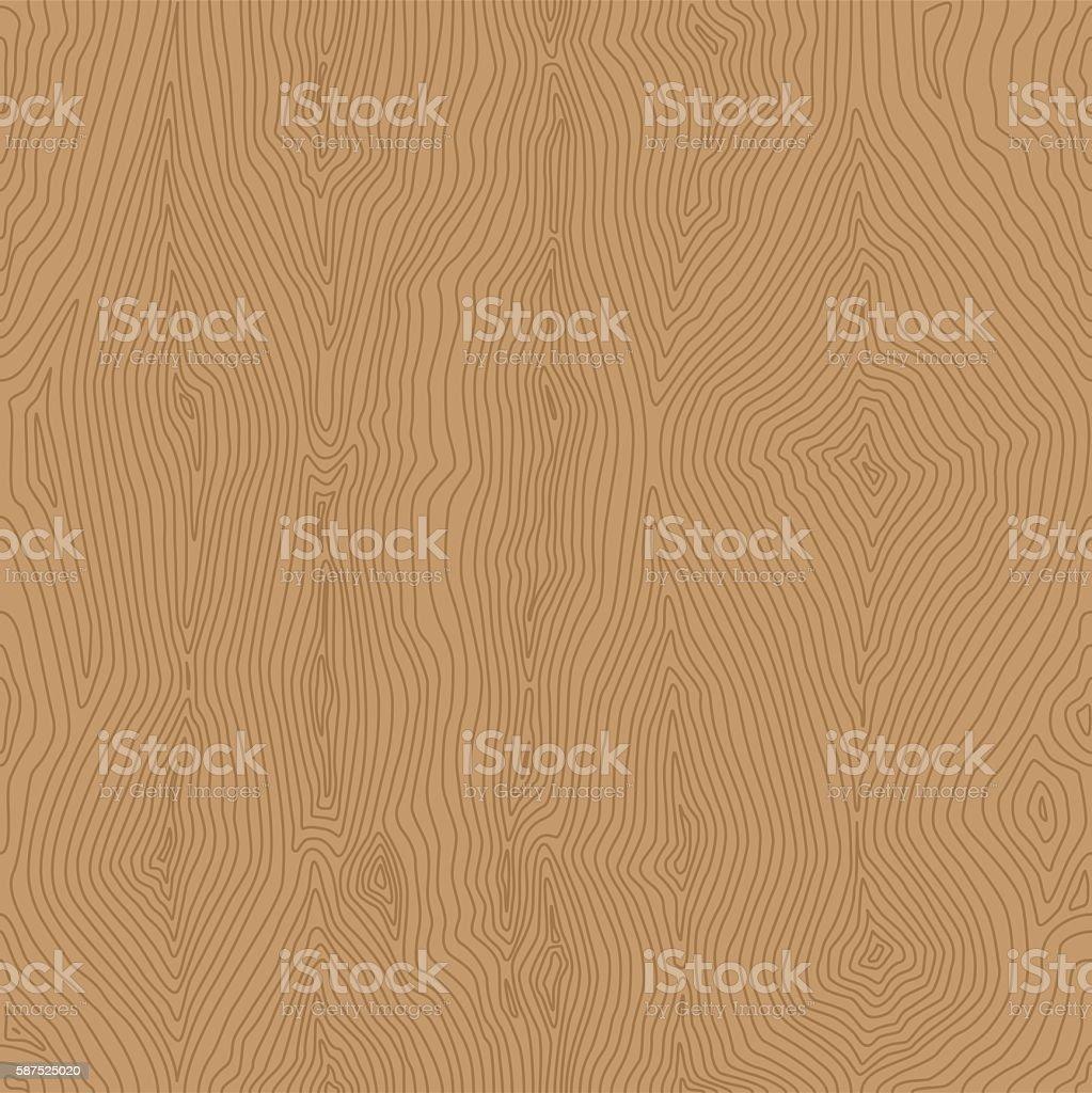 Wood Pattern Seamless vector art illustration