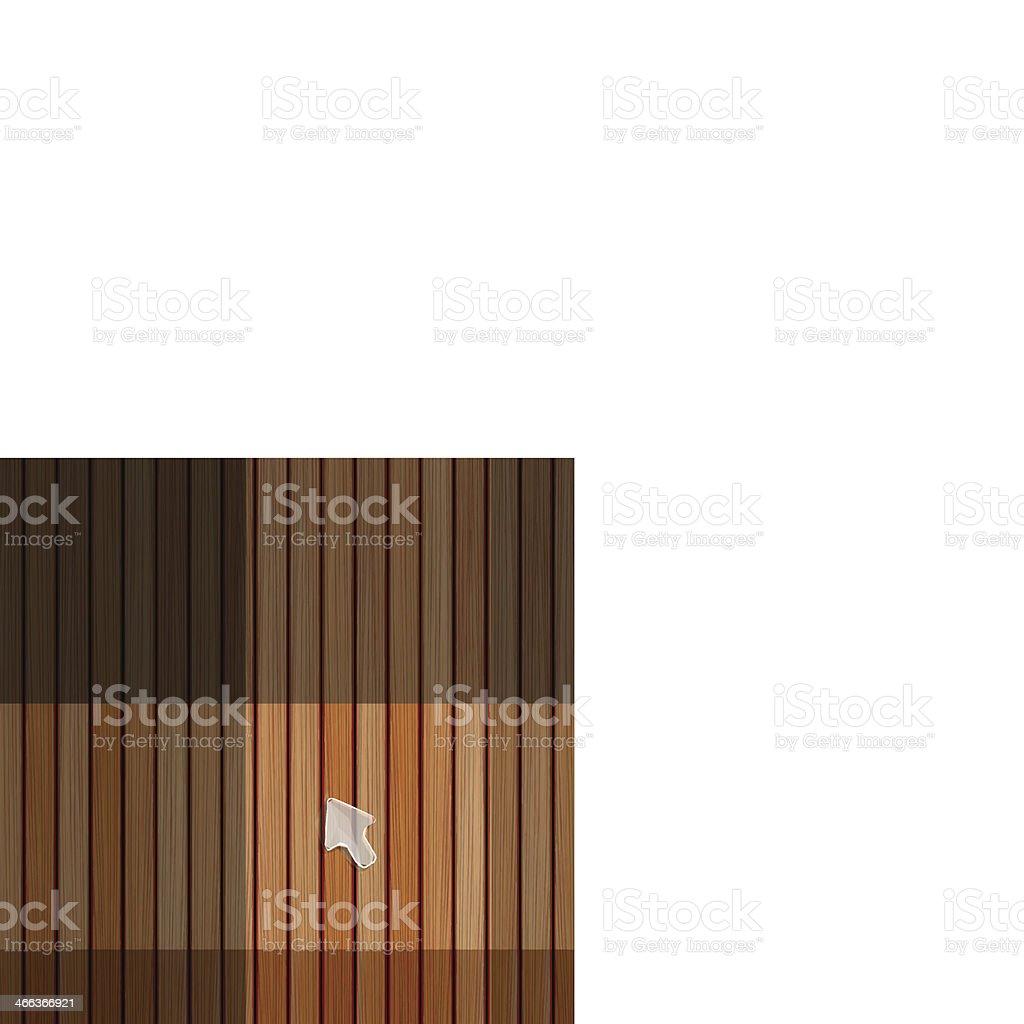 Wood plank texture vector art illustration