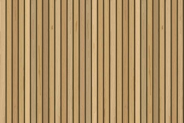 drewniane deski ściany. wektorowe drewniane tło. do nowoczesnego wystroju wnętrz - drewno tworzywo stock illustrations