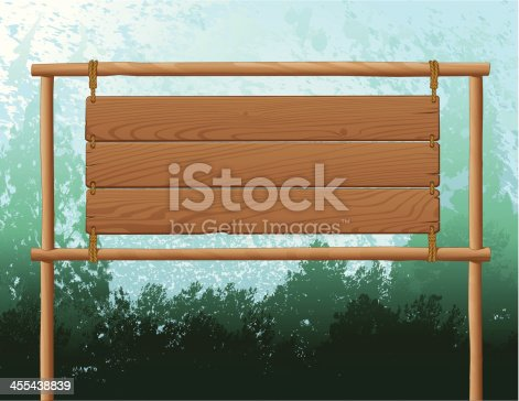 istock Wood Sign Background 455438839