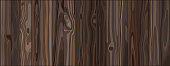 Brown wood grain background wall and vertical plank front