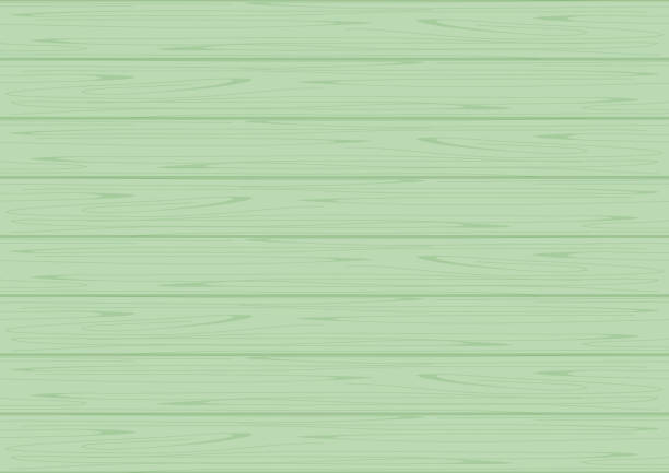 ilustrações de stock, clip art, desenhos animados e ícones de wood texture green pastel color for background, wooden background green colors pastel soft, texture of wood table floor green, wooden table pastel sweet colors beautiful and chic background - top view, wood table, empty