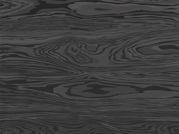 Wood texture. Natural dark gray wooden background Wood texture. Natural dark gray wooden background wood grain stock illustrations