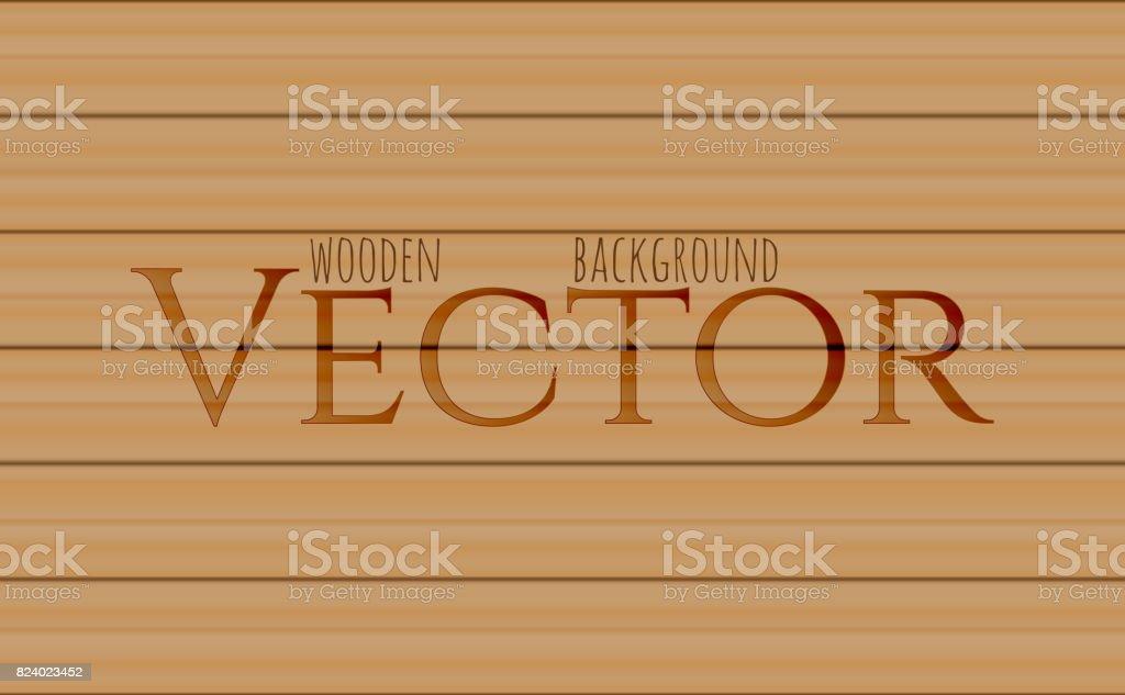 Wood texture, vector Eps10 illustration. Natural oak Wooden Background. vector art illustration