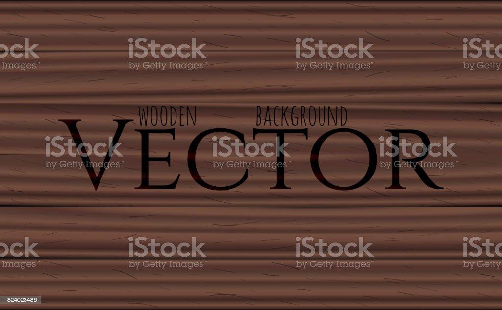 Wood texture, vector Eps10 illustration. Natural Rosewood Wooden Background. vector art illustration