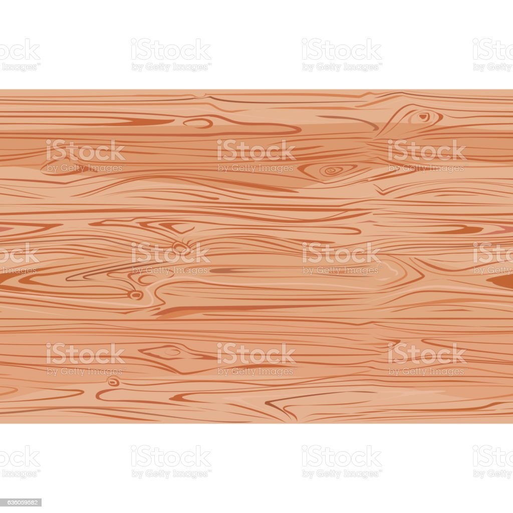 Wood texture with natural pattern top view.  light wooden background - ilustração de arte em vetor