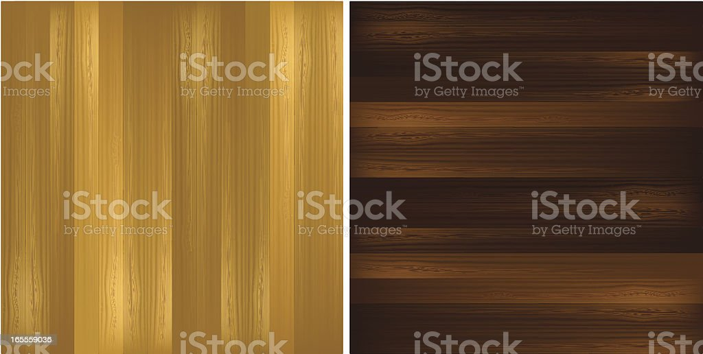 Wood tiles royalty-free stock vector art