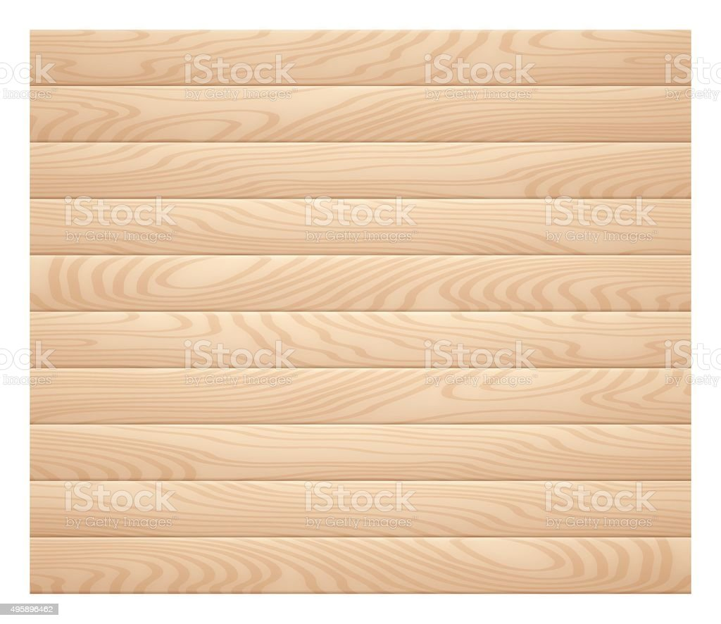 Wood vector art illustration