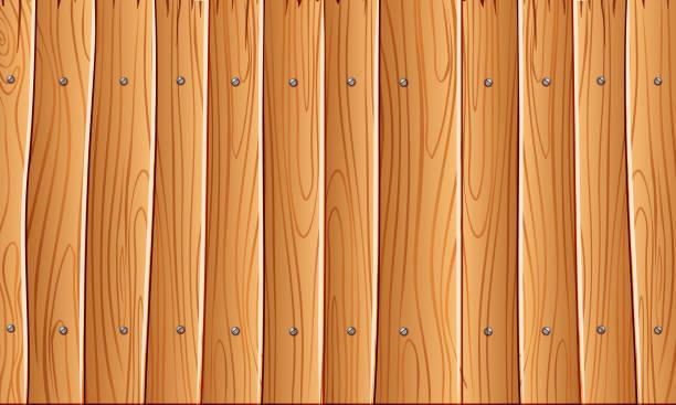 holz-wand, orange gelb holz wand textur hintergrund für grafik-design, vektor - buchenholz stock-grafiken, -clipart, -cartoons und -symbole