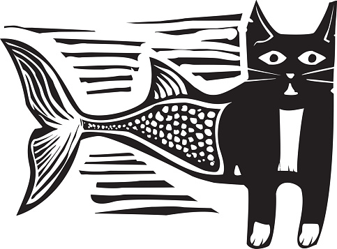 Woodcut Catfish