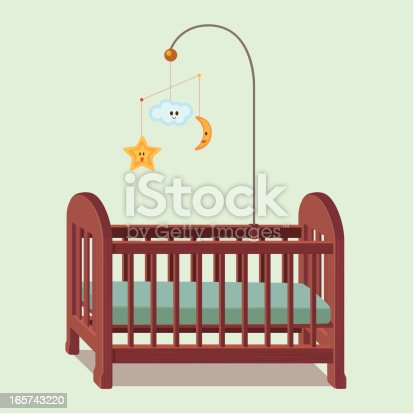An image of a bed for babies.