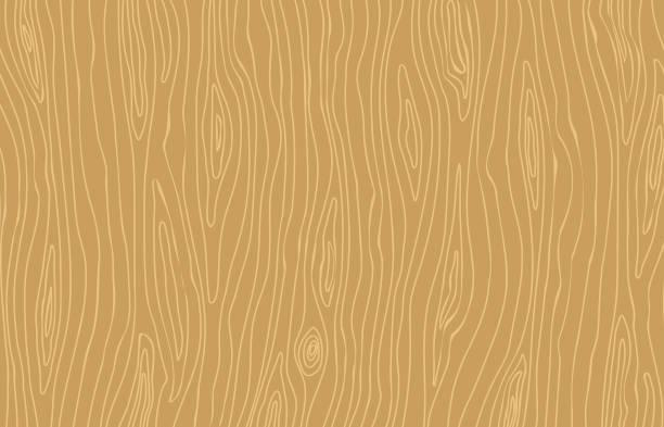 나무 배경입니다. 밝은 갈색 나무 질감 - wood texture stock illustrations