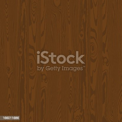 Abstract seamless background of wooden oak colored wall. EPS 10
