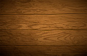 Background. Texture of old shabby wooden planks. Highly realistic illustration.