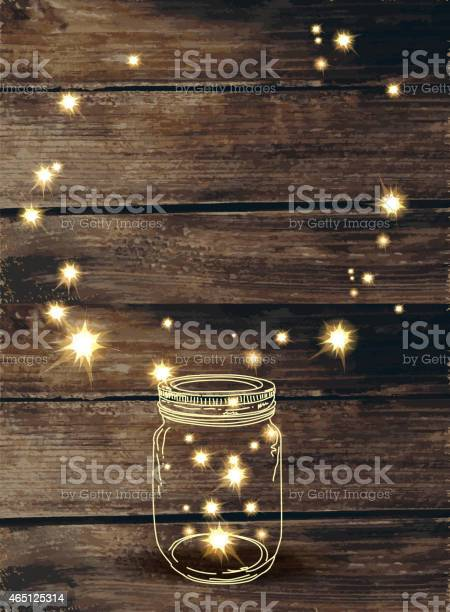Wooden background with canning jar and pink sparkles vector id465125314?b=1&k=6&m=465125314&s=612x612&h=ctr78eehbutpiuiemk 3m5rwbshjcgb9c27 e92lt 8=
