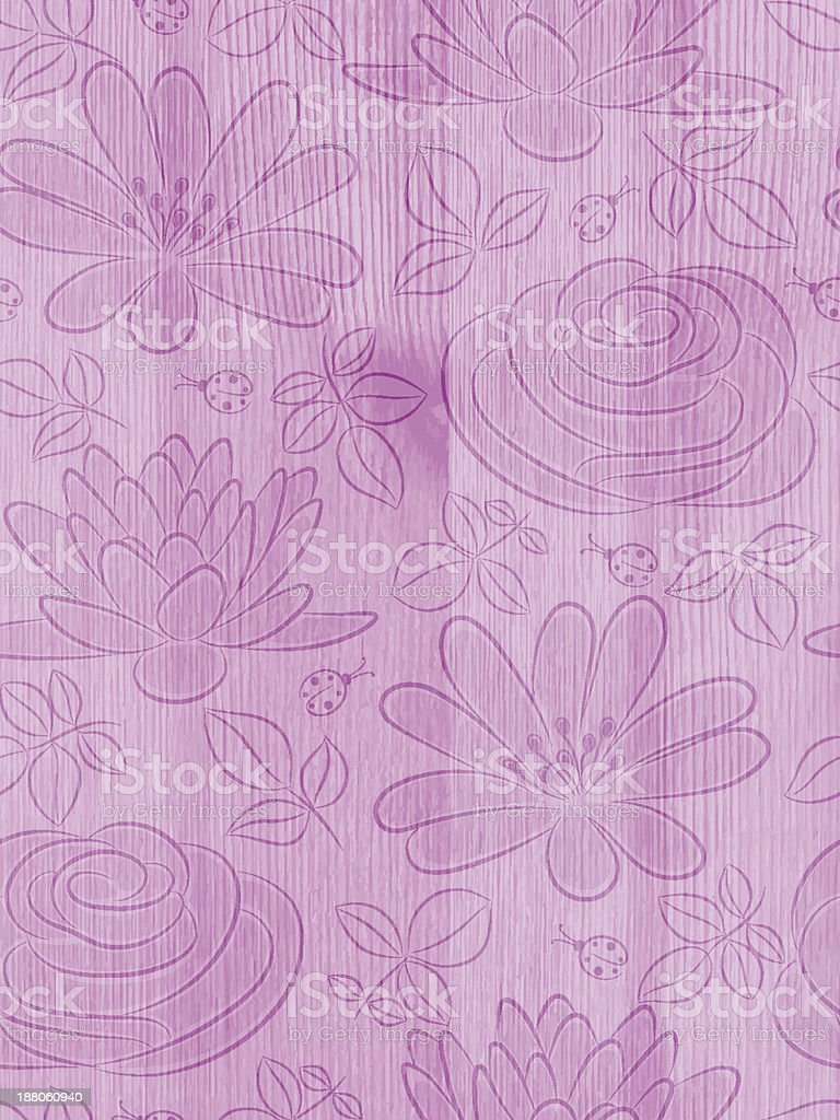 Wooden background with pattern royalty-free stock vector art