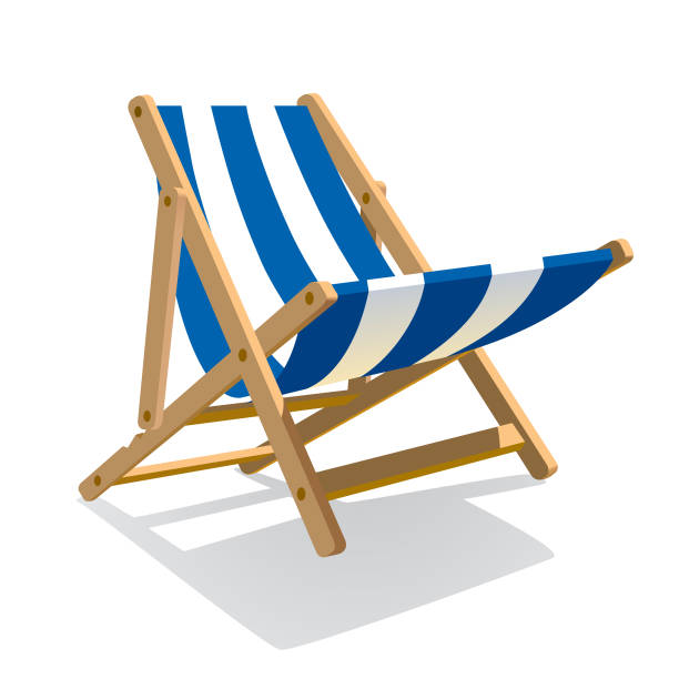 Top 60 Beach Chair Clip Art, Vector Graphics and ...