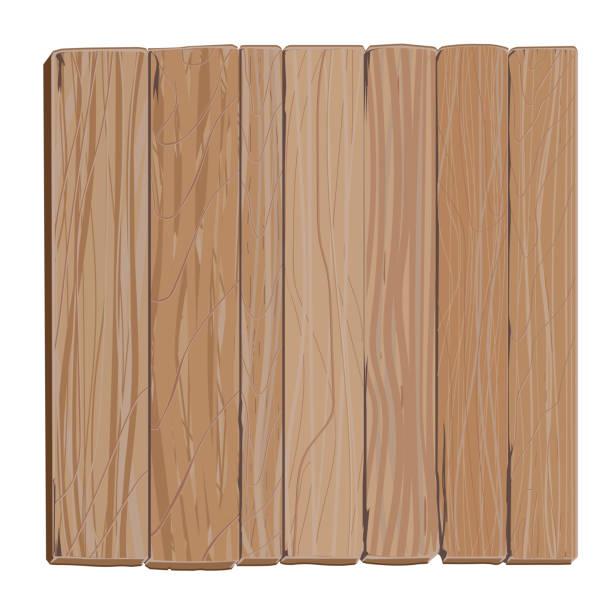Cartoon Wood Board ~ Royalty free wood floor texture clip art vector images