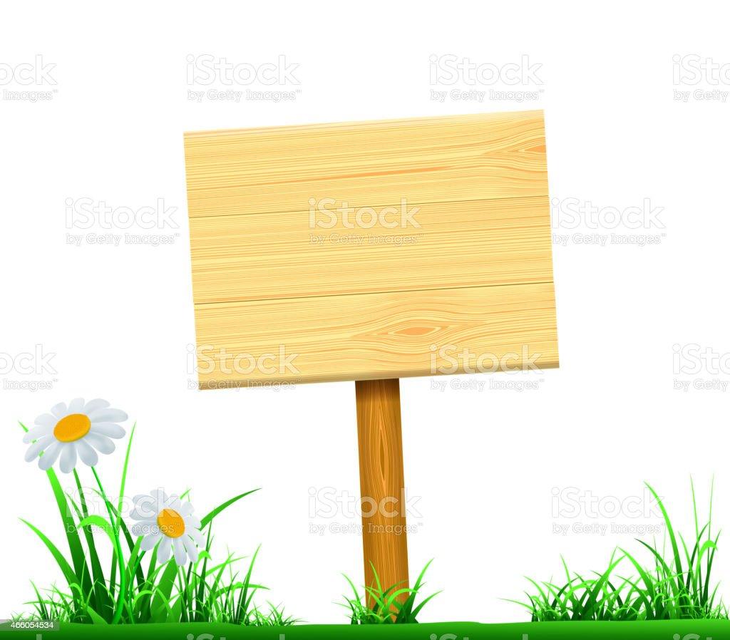 En bois index - Illustration vectorielle