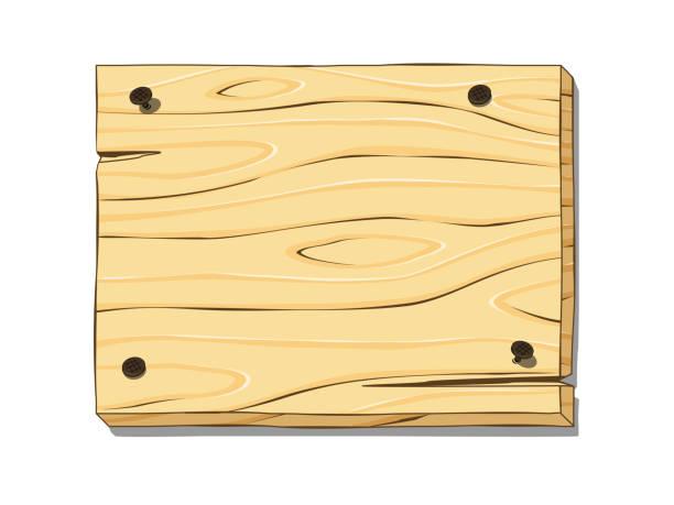 holz-board  - nagelplatte stock-grafiken, -clipart, -cartoons und -symbole