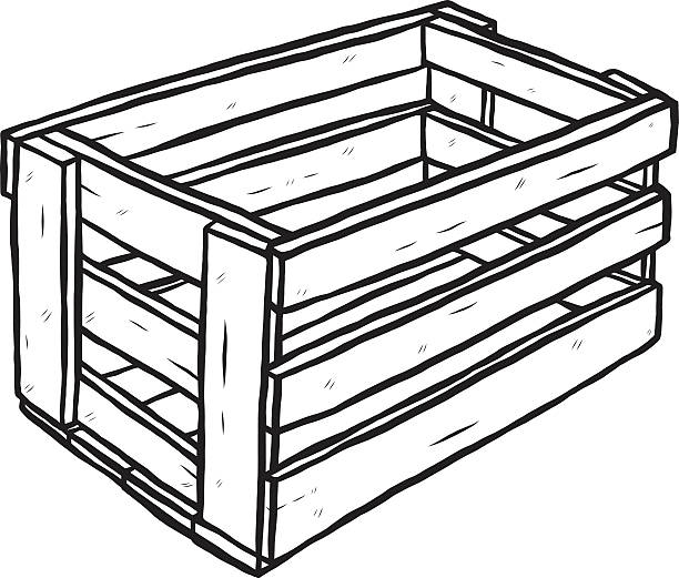 Royalty Free Cartoon Of The Wood Crate Texture Clip Art ...