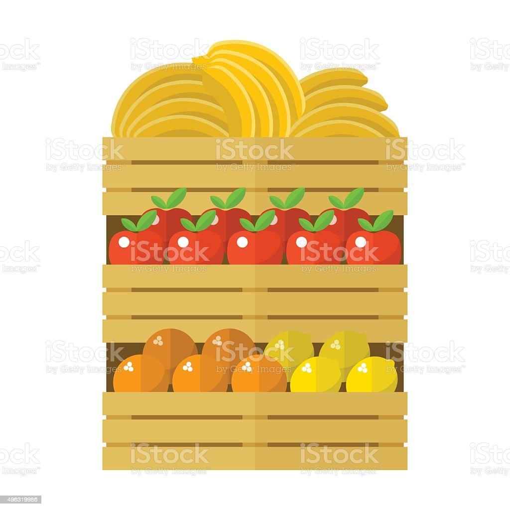 wooden box clipart. bananas in wooden box clip art vector images u0026 illustrations clipart