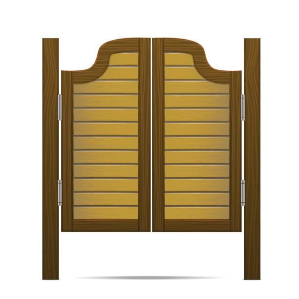 Royalty Free Swinging Doors Clip Art, Vector Images ...