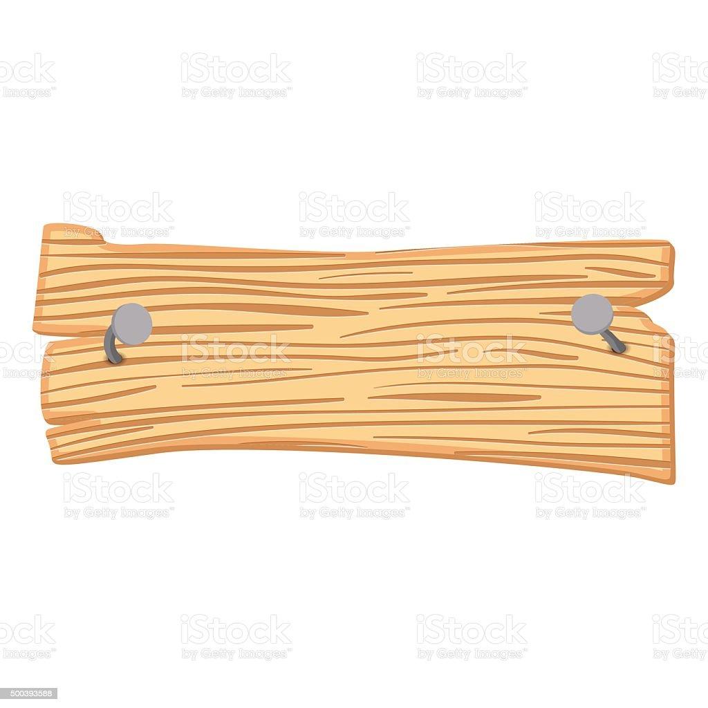 Panneau En Bois De Dessin Animé Stock Vecteur Libres de Droits 500393588 iStock # Panneau Signalisation Bois