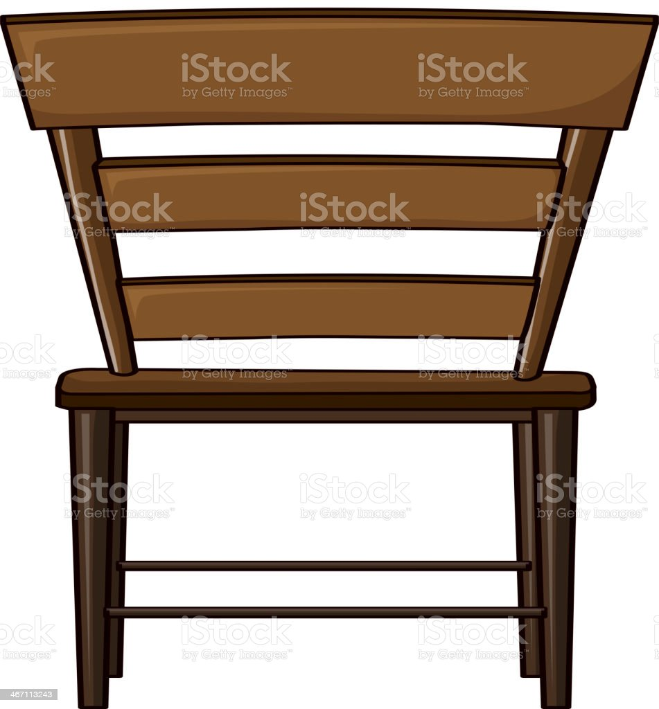 Wooden chair royalty-free wooden chair stock vector art & more images of brown