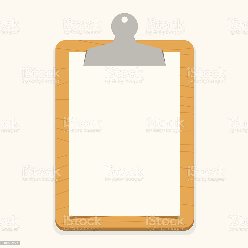 wooden clipboard royalty-free wooden clipboard stock vector art & more images of advice