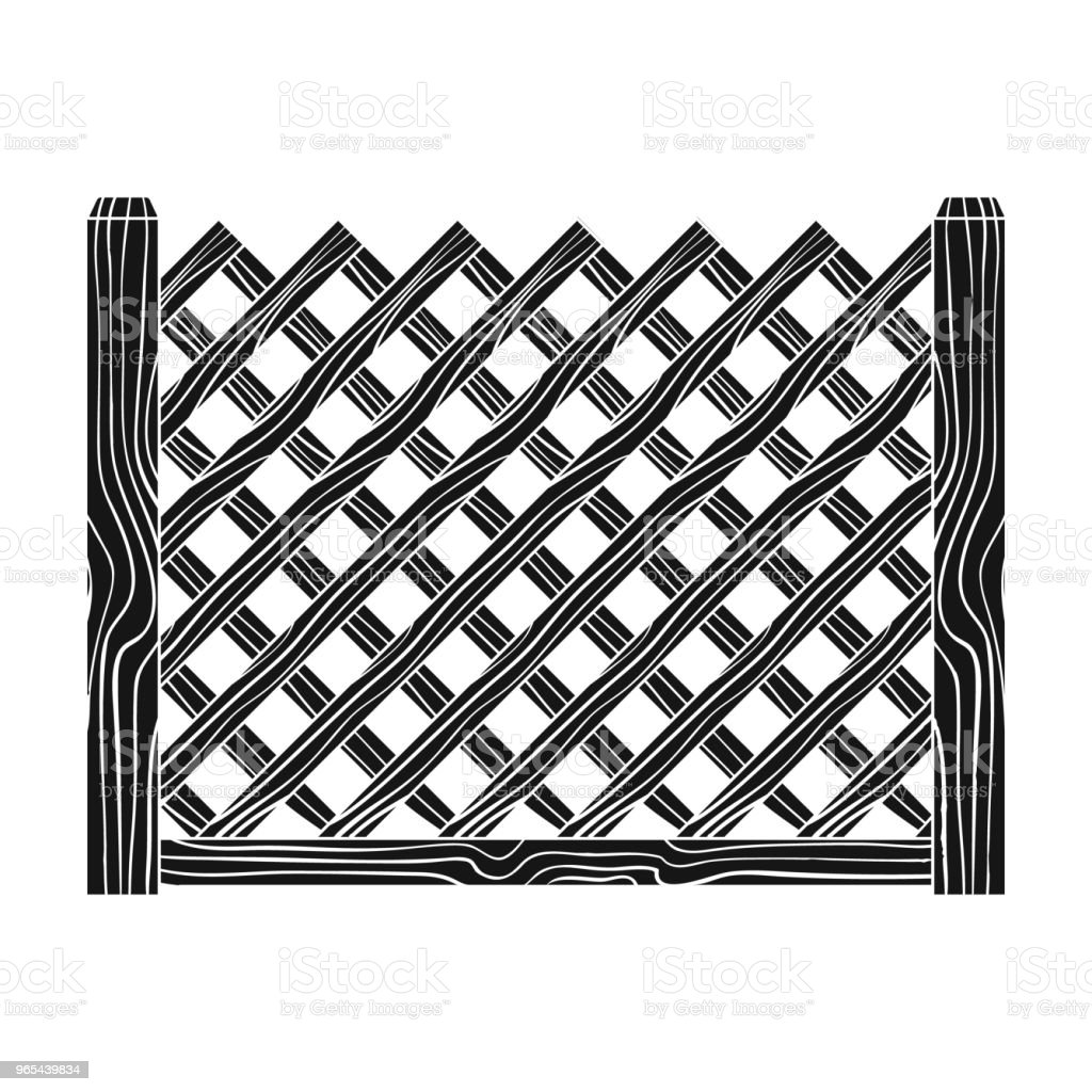 A wooden fence. A different fence single icon in black style vector symbol stock illustration web. royalty-free a wooden fence a different fence single icon in black style vector symbol stock illustration web stock vector art & more images of architectural column