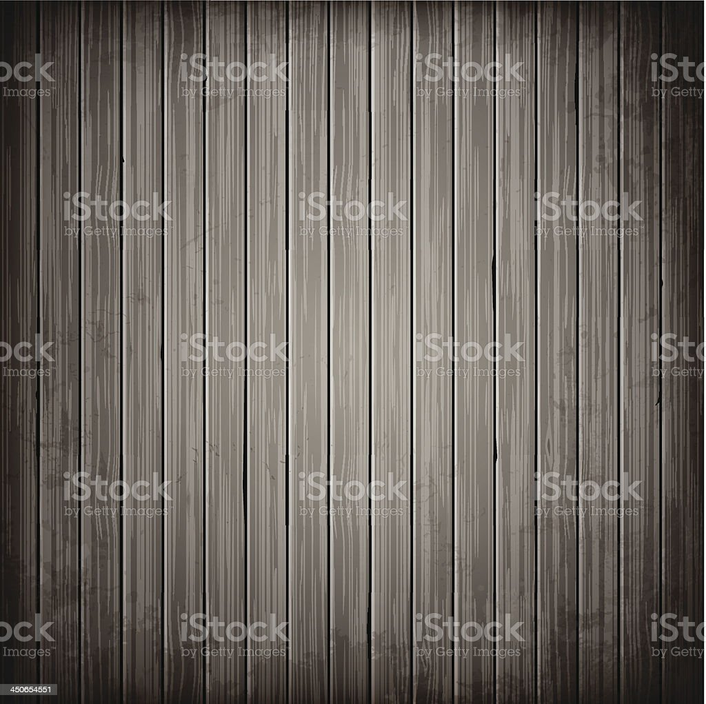 Wooden grey plank background royalty-free stock vector art