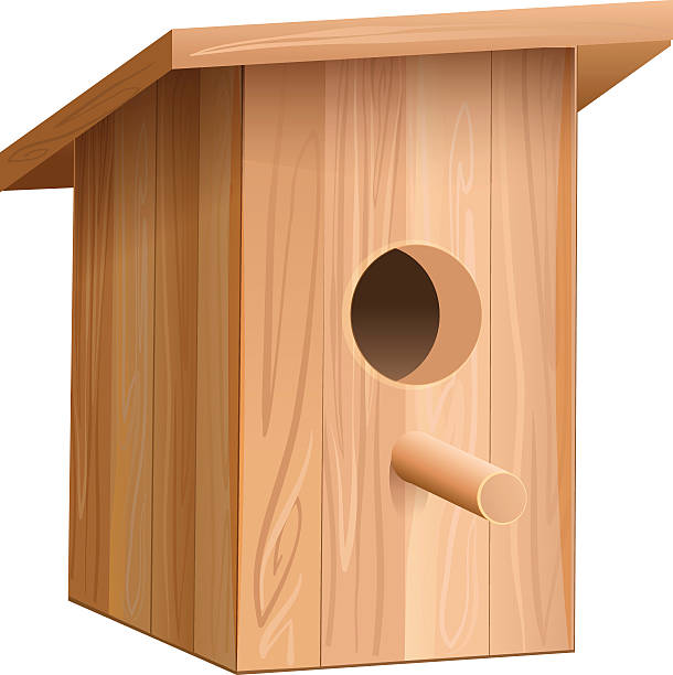 Royalty Free Birdhouse Clip Art, Vector Images ...