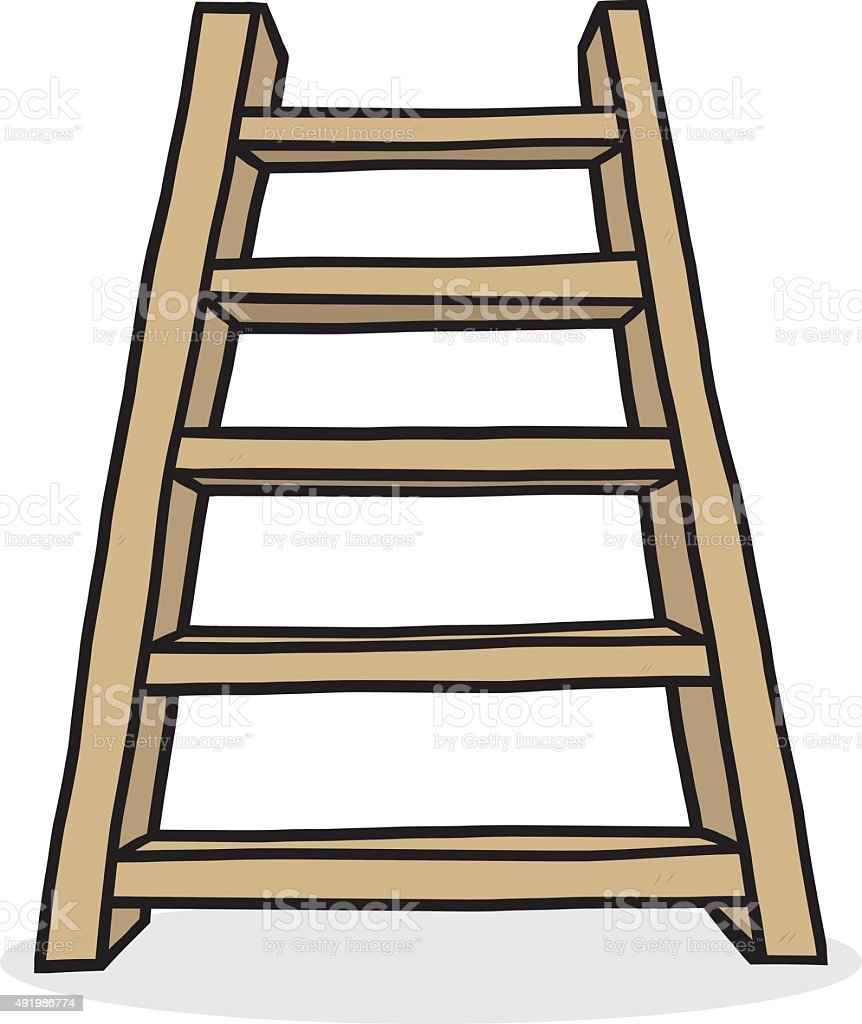 royalty free ladder white background clip art vector images rh istockphoto com ladder images clip art step ladder clip art
