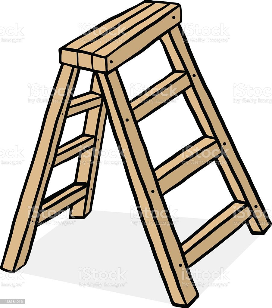 Royalty Free Step Ladder Clip Art Vector Images